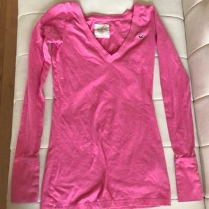 Hollister long sleeve size S